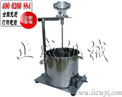 ea400型手动升降气动搅拌机图片
