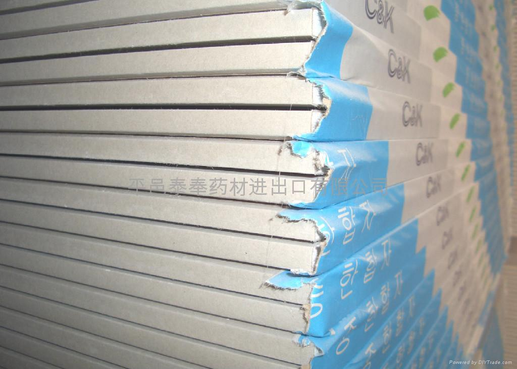 Gypsum Core Board ~ Gypsum board pytfgb ket china trading company