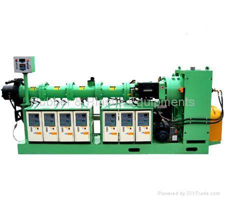 rubber gear pump vacuum extruder 1