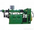 cold-feeding vacuum rubber extruder