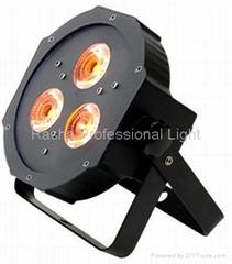 American DJ Light-Ultra bright flat Par38 wash fixture with 3x 15W LED PAR38