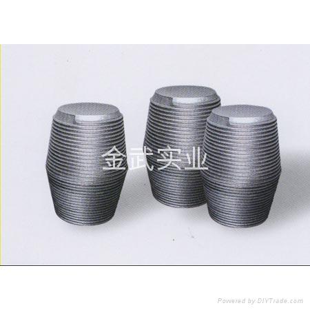 石墨电极接头 - 450 - 升华 (中国 河北省 生产商