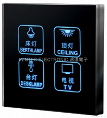 Touch-screen Wall Switch #WTL-SCB