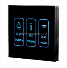 Touch Screen Wall Switch #WTL-SCD-3