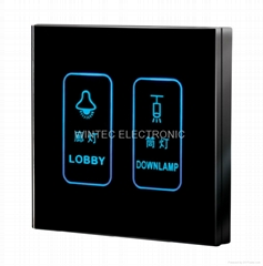 Touch Screen Wall Switch #WTL-SCD-2