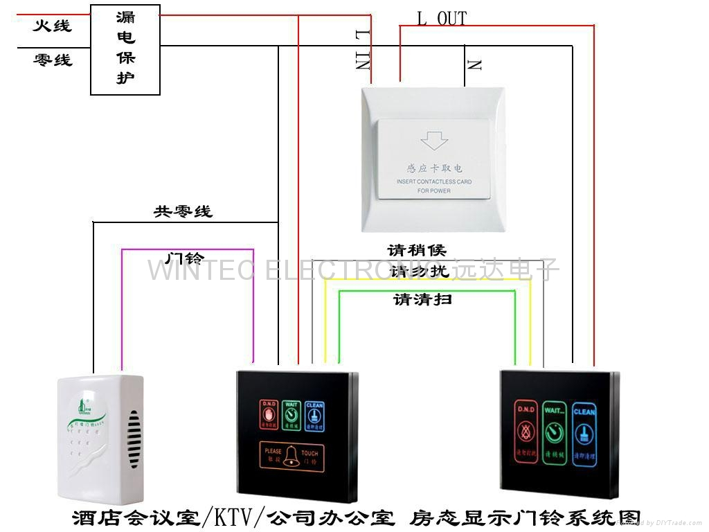 Doorbell_wiring_diagram_4in1 doorbell wiring diagram 4in1 (china manufacturer) combination wiring diagram for a doorbell at bayanpartner.co