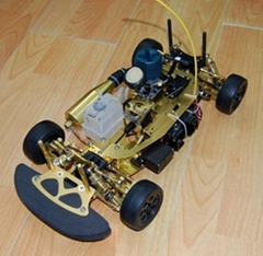 R/C 1:10 Nitro 4WD On-road Racing Car