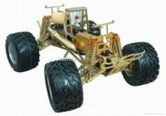 R/C 1:8 Nitro 4WD Monster Truck