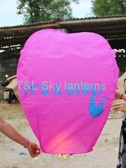 It's a girl sky lantern
