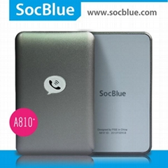 socblue bluetooth dual sim adpter for smart phone/pad,triple sim technology