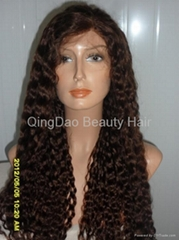 Wholesale Grade AAA 100% human remy hair full lace wig