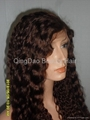 Wholesale Grade AAA 100% human remy hair full lace wig 3