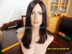 Fashion 100%European human remy hair Kosher wig