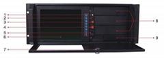 4U 19英吋帶8.4寸TFT液晶屏機箱