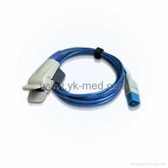 Compatible with PHILIPS 8P adult finger clip SPO2 sensor