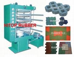rubber tile machine