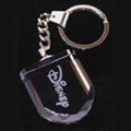 crystal key chain pendent