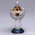crystal perfume light