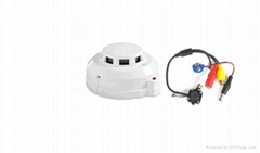 "Real Alarm Smoke Detector 1/3"" CCD Colour Camera"