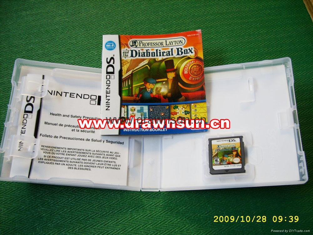 New Box Games : New released ds game professor layton and the diabolical