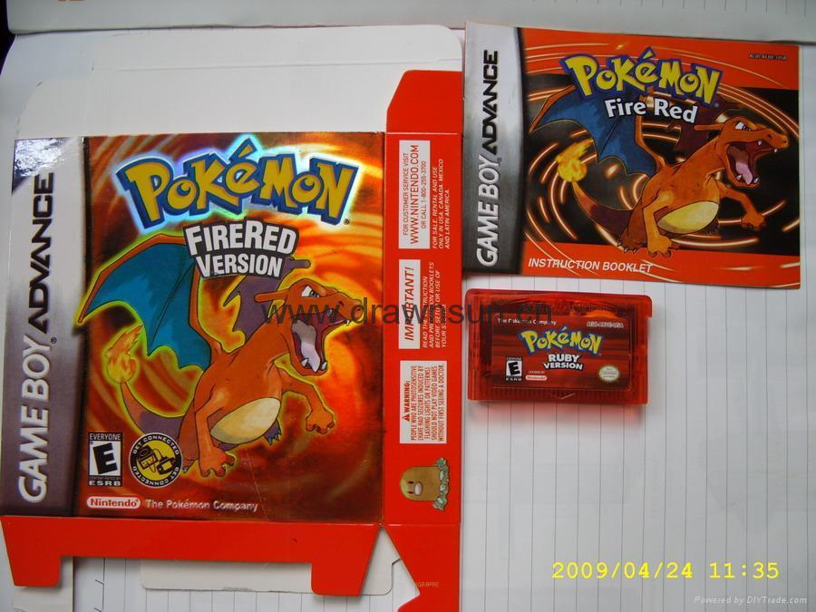 Gameboy games-Color Pokemon games 3