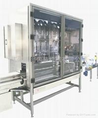 直线式液体灌装封口机