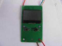 无线射频遥控板STK433TR_LCD