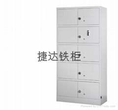 Intelligent fingerprint security cabinet