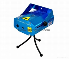 Mini Red-Green Moving Party Laser Stage DJ Light Projector with stand and power