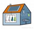 LED Solar Lantern--Anytime Anywhere