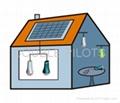 LED Solar Lantern--Anywhere