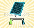 LED Solar Lantern for counry area