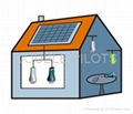 LED Solar Lantern for counry area lighting 2