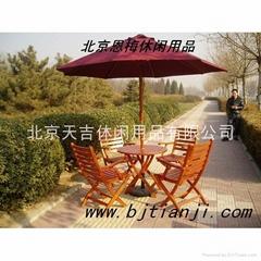 戶外木製桌椅/戶外桌椅