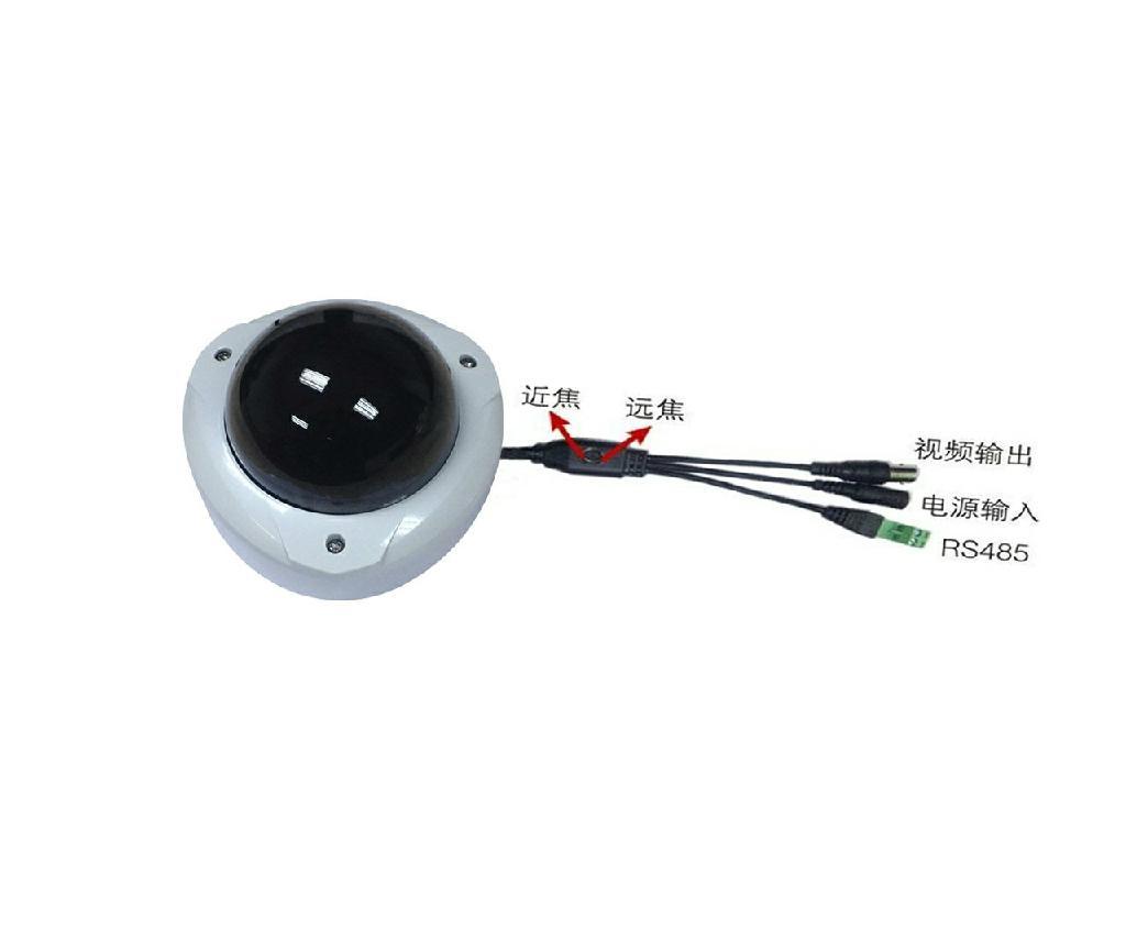 電動調焦紅外防爆半球 1