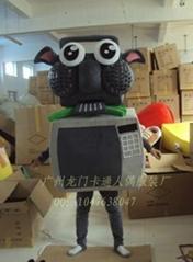卡通人偶衣服机器羊