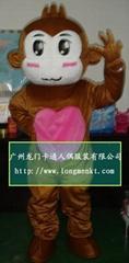 卡通人偶表演服装猴