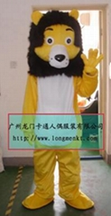 卡通表演服饰狮子