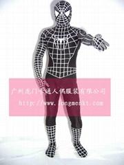 人偶卡通服装蜘蛛侠