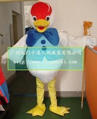 鸡人偶表演服装