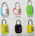 3-digit Resettable Combination  Lock  3