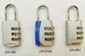 3-digit Resettable Combination  Lock  5