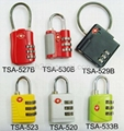 Top Security Resettable TSA Combination