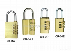 Kinds of Size Brass Combination Padlock