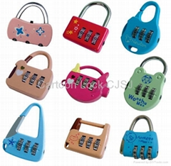Cartoon combination lock for promotion