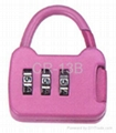 Mini Combination  Lock for Luggage & Bag  2