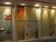 移門、衣櫃門、推拉門彩繪板、烤瓷板