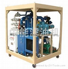 Vacuum Double-Stage Transformer Oil Purifier/Oil Recycling/Separation Line