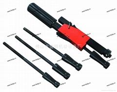Stable state tube rosser skinning knife
