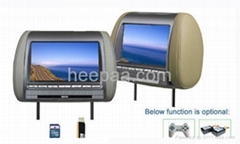 8.5 Inch Headrest TFT LCD Monitor with SD/USB Slot
